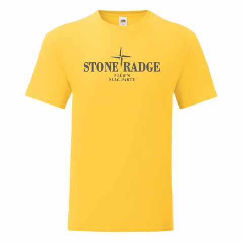 Mens Stag T Shirt – YELLOW STONE RADGE