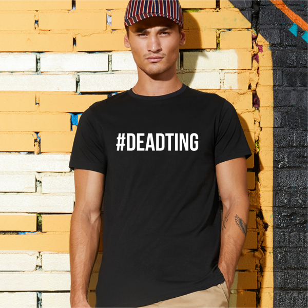 Dead Ting Mens Black T-Shirt