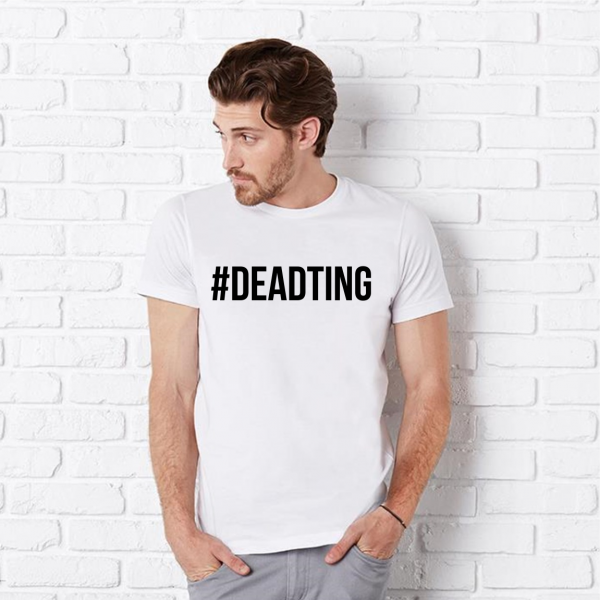 Dead Ting Mens White T-Shirt