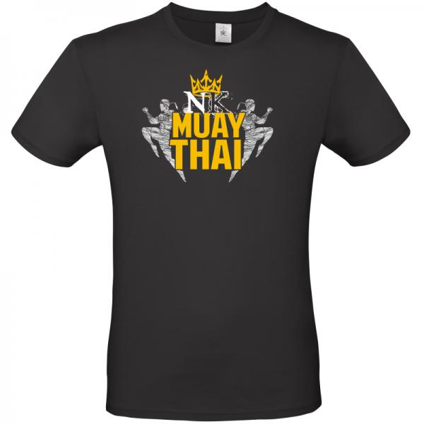 Fighting Kings Black Unisex T Shirt