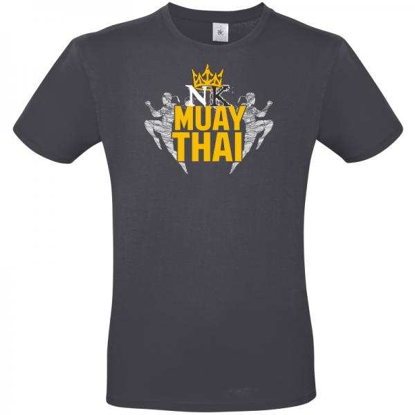 Fighting Kings Grey Unisex T Shirt