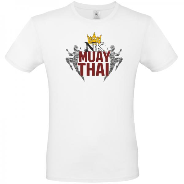 Fighting Kings White Unisex T Shirt