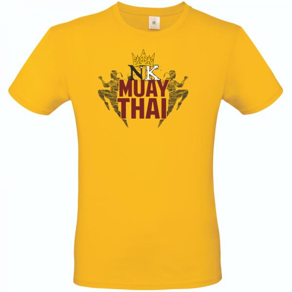 Fighting Kings Yellow Unisex T Shirt
