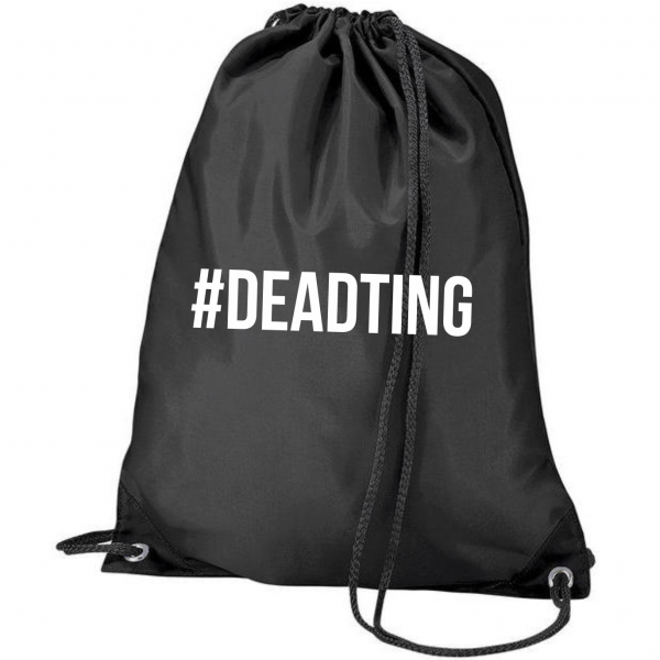Dead Ting Bag – Black