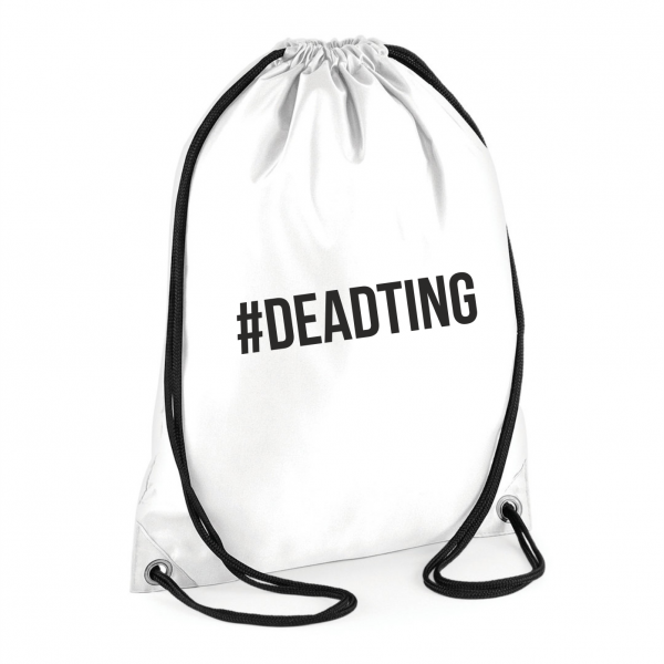 Dead Ting Bag – White